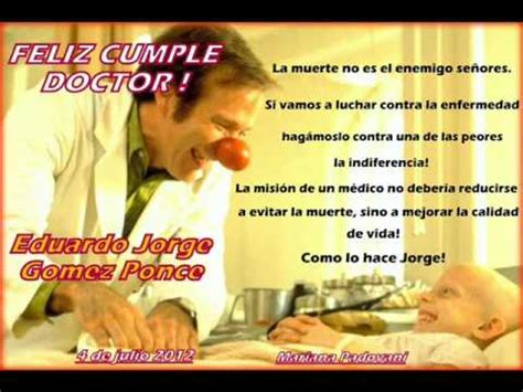 imagenes feliz cumpleaños doctor feliz cumple dr eduardo gomez ponce youtube