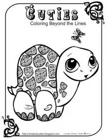 quirky artist loft cuties free animal coloring pages