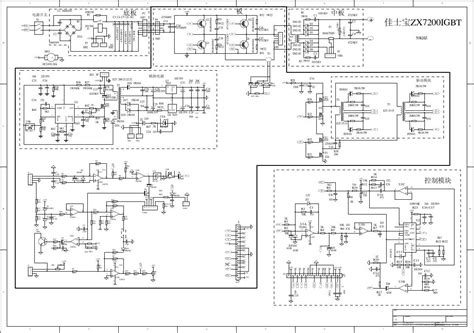 inverter welder schematic circuit diagram circuit and