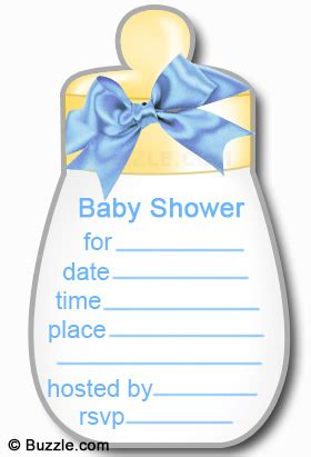 creatively enchanting homemade baby shower invitations