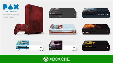 Xbox One Sweepstakes 2016 - win an xbox one s at pax west 2016 xbox wire