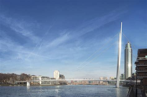 designboom london shortlist of four unveiled for london s nine elms bridge