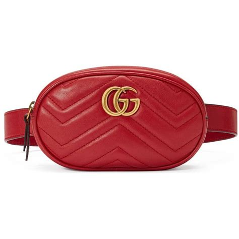 Tasgucci Gg Marmont Waist Bag Villa Gucci Gg Marmont Matelass 233 Leather Belt Bag Found On
