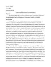 hydration of cyclohexene lab report cyclohexanol to cyclohexene lab report robby