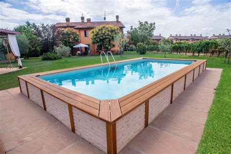 piscina da giardino fuori terra piscine fuori terra in legno