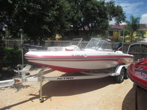 nitro boat cleaner 2006 nitro boats for sale