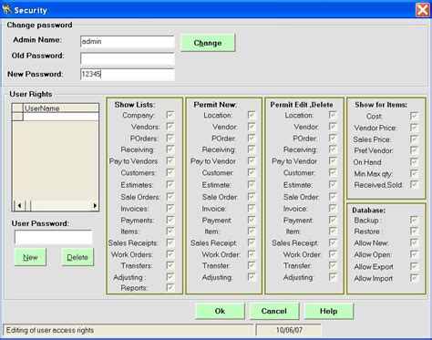 microsoft access inventory database template