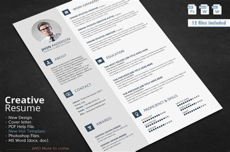 civil engineer resume template word psd and indesign format graphic cloud