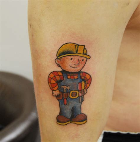 tattoo builder bob the builder black iron