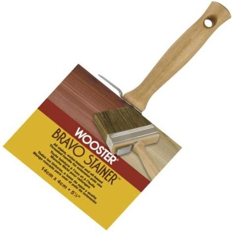 wooster bravo stain brush water base stain twp stain
