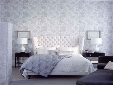 grey and white bedroom wallpaper modern bedroom interior decorating ideas with beautiful