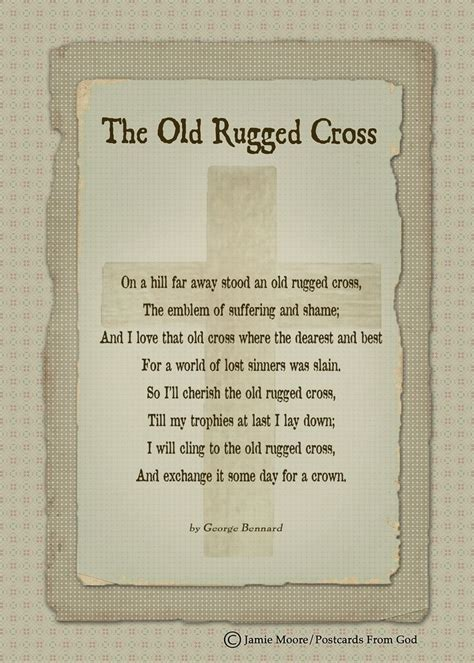 i will cling to the rugged cross lyrics 128 best images about bible verses and hymns on