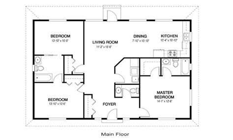 house floor plan ideas 28 open floor plans for small small open concept