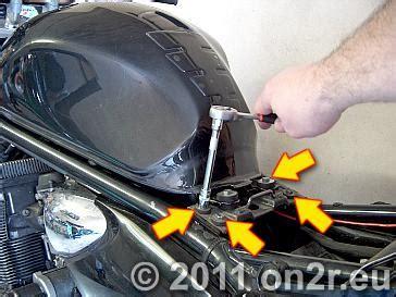 Motorrad Sitzbank Wechseln by Luftfilterwechsel On2r Eu