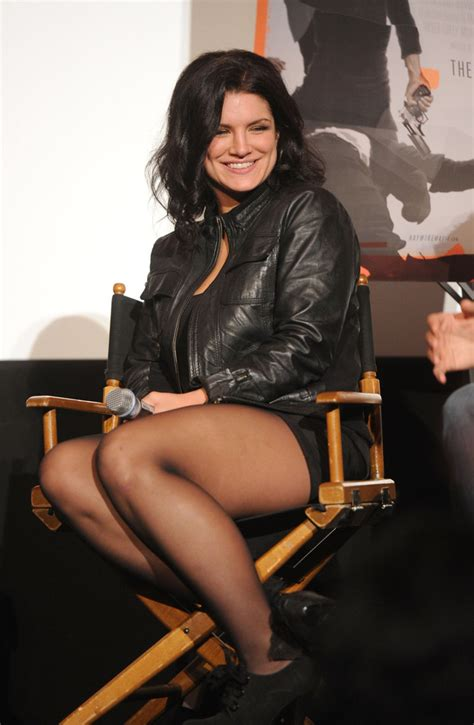 Gina Joy Carano Naked - gina carano in afi film festival secret screening of