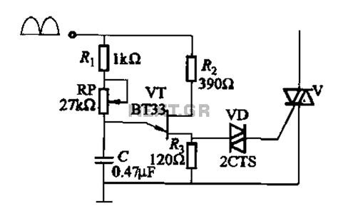 transistor lifier phase shift gt other circuits gt single junction transistor a phase shift trigger circuit l60632 next gr