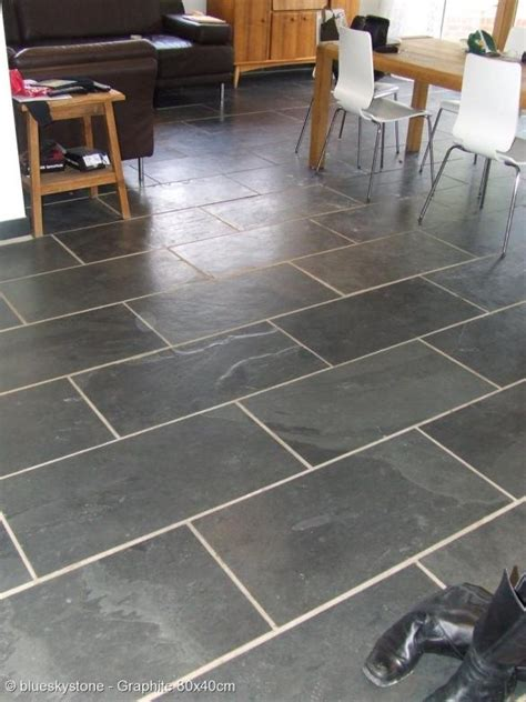 black and grey slate floor wall tiles tiles kitchen