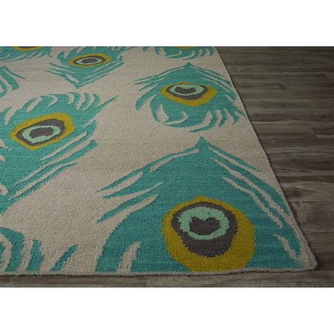 animal pattern rugs jaipur rugs flatweave animal print pattern blue wool area rug ngf03 r rugmethod