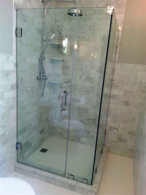 glass enclosed shower glass shower enclosures