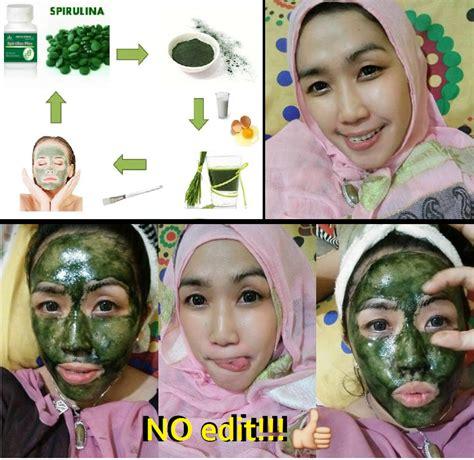 Masker Wajah Spirulina 4 masker spirulina untuk mencerahkan wajah dari luar ob4t