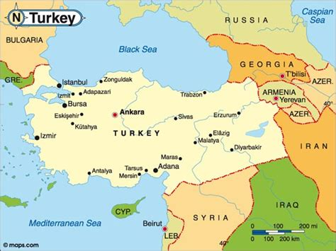 ottoman countries map of turkey hotels world travel and tourist information