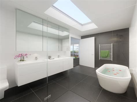 Modern Bathroom Design Gallery Modern Bathroom Design With Freestanding Bath Using