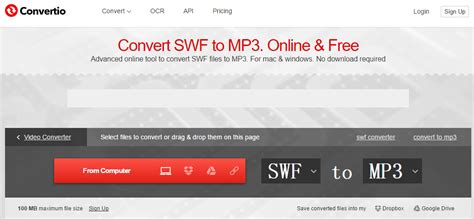 convert flash to mp how to convert swf to mp3 with swf to mp3 converter