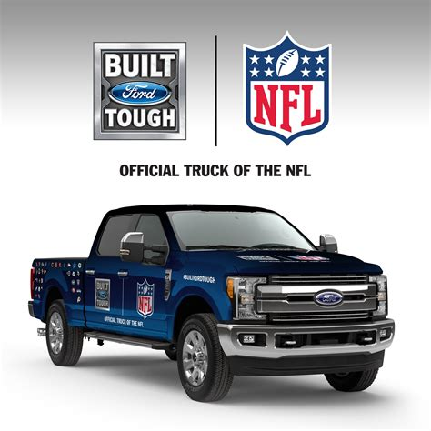 Nfl Ford Sweepstakes - ford f series now official truck of the nfl celebrating toughest players and