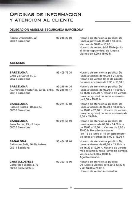 adeslas horario oficinas gu 237 a m 233 dica adeslas barcelona 2013