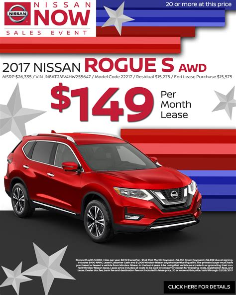 nissan rogue lease deals nissan rogue lease deal