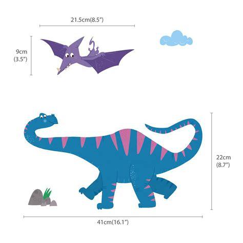 Wand Sticker Baby wandsticker baby dinosaurier wandsticker kinderzimmer