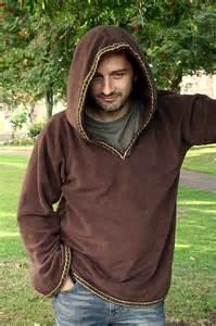 Hoodie for men medieval hoodie elven hoodie psy clothing pointy