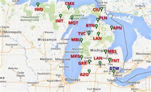 michigan canada map a 1 airport cars michigan detroit dtw