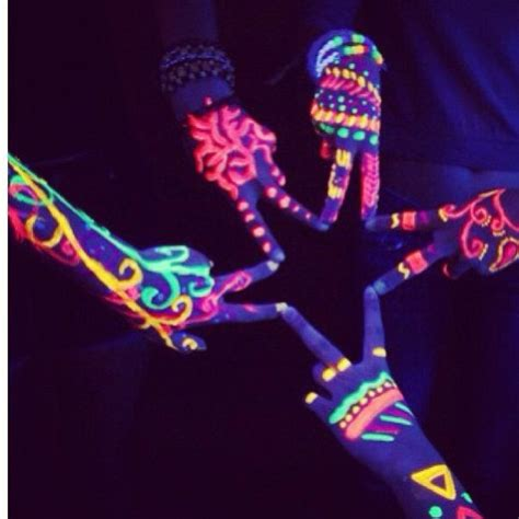 glow in the dark neon tattoo 29 best glow in the dark tattoos images on pinterest
