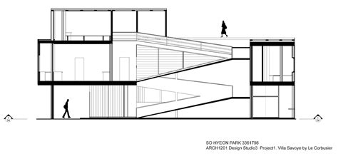 villa savoye floor plan dwg arch1201 chloe park blog project1 villa savoye drawings