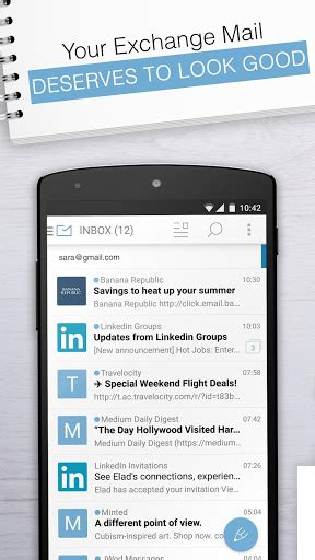 email exchange apk email exchange by mailwise apk for android