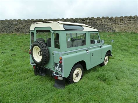 original land rover pac 585f 1968 series iia 88 quot station wagon