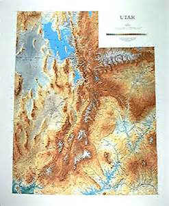 Utah Elevation Map by Climbing Mt Raymond And Gobblers Knob In Big Cottonwood