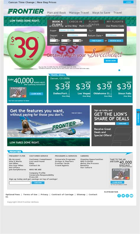 frontier airlines company profile owler
