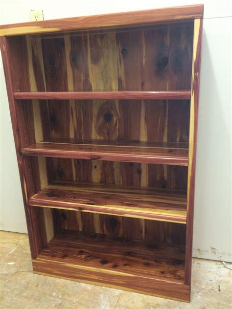 Wooden Bookshelf Bookcase Cedar Bookcase Bookshelf Cedar Bookshelf Wooden