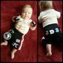 Cute ufc baby hahaha martial arts humor pinterest