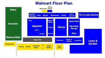 walmart store floor plan how wal mart lays out its stores to lift sales nyse wmt 24 7 wall st
