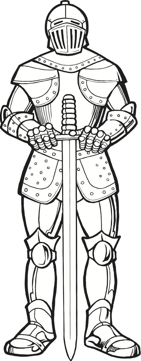 printable coloring pages knights 29fd9e2e3de211738faa950aaa3a162f knights coloring pages