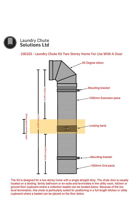 Single Level Floor Plans 250mm laundry chute kit two storey home with low level