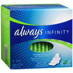 Always Infinity Heavy Flow Always Infinity Pads Flexi Wings Heavy Flow 16 Pads