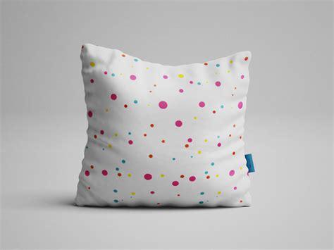 pattern fabric mockup square pillow free psd mockup free mockup