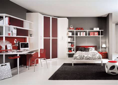 Teenage Bedroom Designs teen bedroom interior design stylehomes net