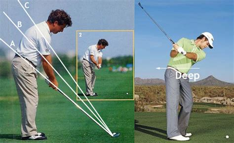 ian woosnam swing quot deep quot hands explained or quot depth quot instruction and