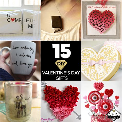 Valentines Gifts For Everyone Just For Him by 15 Diy S Day Gifts For Everyone Chic Creative