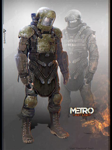 Metro Last Light Tank by Posts Apocalyptic Concept Vlad Tkach Scifi